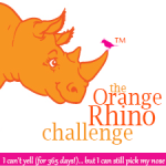 Toastmasters Orange Rhino